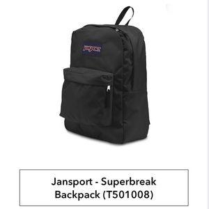 Jansport | Superbreak Basic Black Backpack